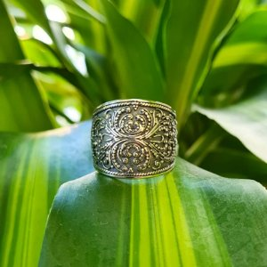 Anel Bali Filigrana em Prata 925