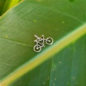 Pingente Bicicleta em Prata 925