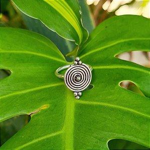 Anel Bali Espiral em Prata 925