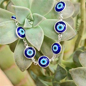 Pulseira Olho Grego em Prata 925