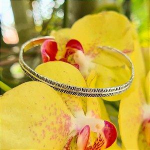 Bracelete Pena em Prata 925