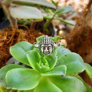 Anel Buda em Prata 925