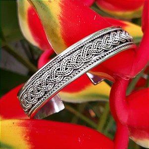Bracelete Bali em Prata 925