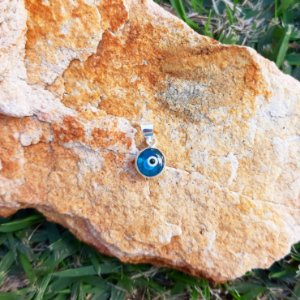 Pingente Olho Grego em Prata 925