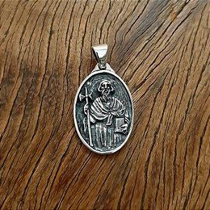 Pingente São Judas Tadeu em Prata 925