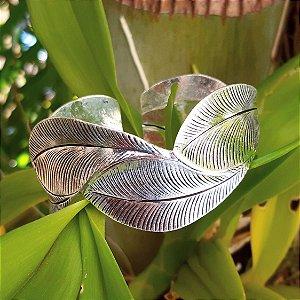 Bracelete Bali Folhas em Prata 925