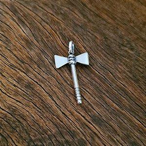 Pingente Orixás Xangô em Prata 925