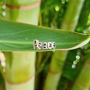 Anel Peace em Prata 925