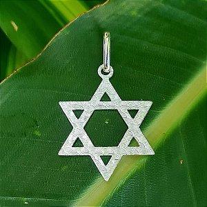 Pingente Pentagrama em Prata 925