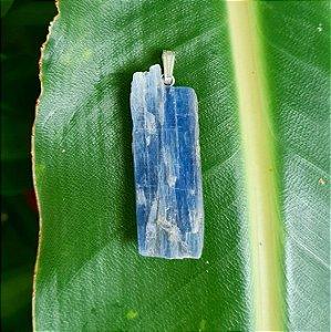 Pingente em Prata 925 e Cianita Azul