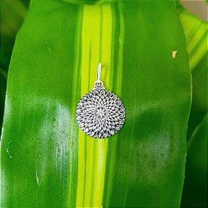 Pingente Mandala em Prata 925