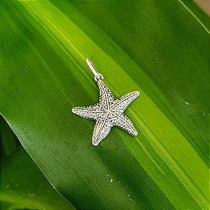 Pingente Estrela do Mar em Prata 925