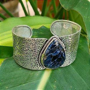 Bracelete em Prata 925 e Astrofilita