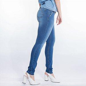 365026a00 Skinny Jeans com Recorte e Pesponto Diferenciado zoom