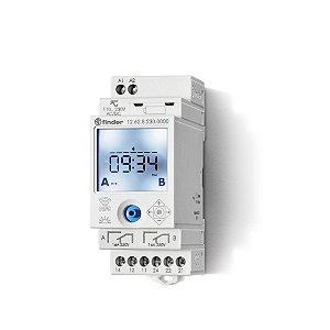 RELE PROGRAMADOR HORARIO ELETRONICO SEMANAL NFC 230VAC - 12.62.8.230.0000