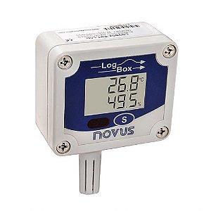 LogBox-RHT-LCD - Registrador Eletrônico de Umidade e Temperatura