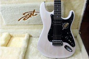 Guitarra SGT ST Classic HH Translucid White - PRONTA ENTREGA
