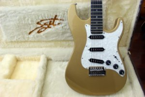 Guitarra SGT ST Modern Gold - PRONTA ENTREGA