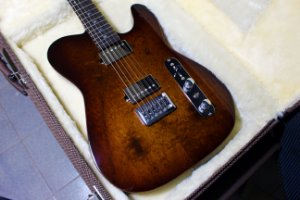 Guitarra SGT TC Standard Natural - PRONTA ENTREGA