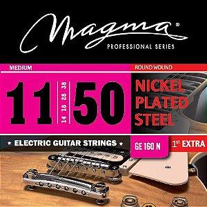 Encordoamento Guitarra Elétrica 0.11 Magma Ge160n Aço