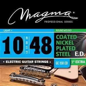 Encordoamento Guitarra Elétrica 0.10 Magma Ge150ed