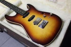 Guitarra SGT ST Supreme Chocolate 3-Color Sunburst - PRONTA ENTREGA(semi-novo)