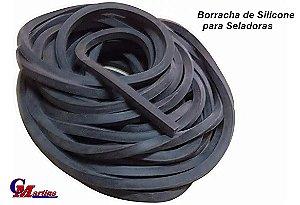 BORRACHA PRETA ESPONJOSA PARA SELADORA MT