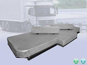 Cama Starsprings c/ 2 extensores para caminhão Mercedes Atego 1719, 1726, 1729, 1730, 2426, 2430, 2730, 3026, 3030