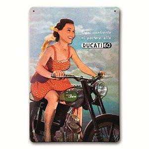 Placa Ducati 60