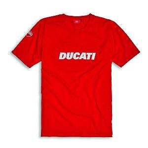 Camiseta Modelo Ducatiana 2 Vermelha