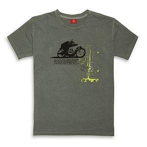 Camiseta Ducati Fluo Retro