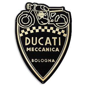 Placa Ducati Meccanica Historical