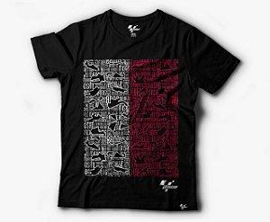 Camiseta MotoGP GP Preta