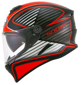 SUOMY STELLAR CRUISER - RED FLUO