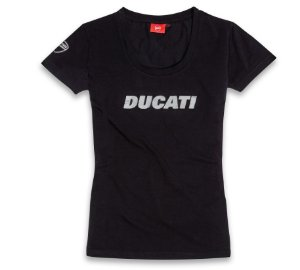 Camiseta Ducatiana Preta - Feminina