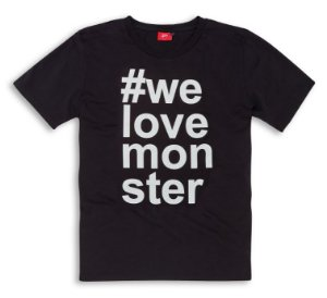 T-SHIRT #MONSTER
