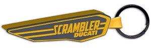 Chaveiro de borracha Scrambler Wing