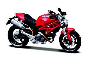 Miniatura Maisto - Ducati Monster 696 - 1:12