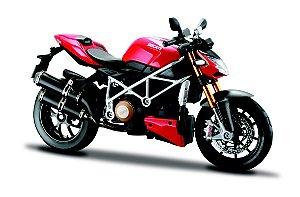 Miniatura Maisto - Ducati Streetfighter S - 1:12
