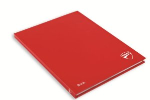 Notebook Ducati Red