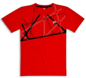 T-shirt Ducati Corse 19 Graphic Red