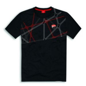 T-shirt Ducati Corse 19 Graphic - Black