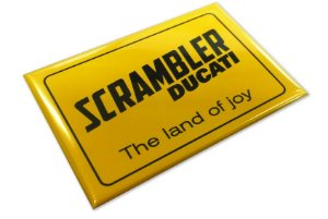 Imã Ducati Scrambler - Land of Joy