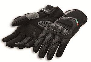 Sport C3 Luvas de couro-tecido