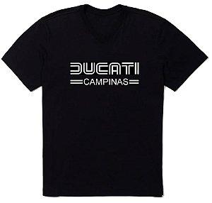 Camiseta Ducati Campinas Preta