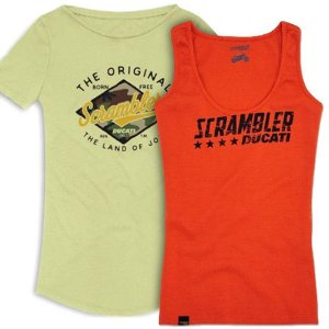 Kit Camiseta Scrambler Femina