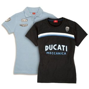 Kit Camiseta Ducati Feminino