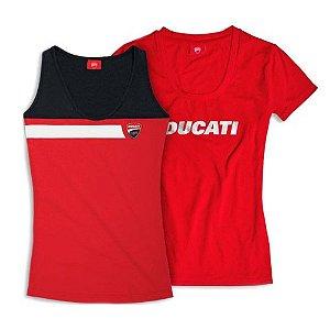 Kit Camiseta + Regata Ducati