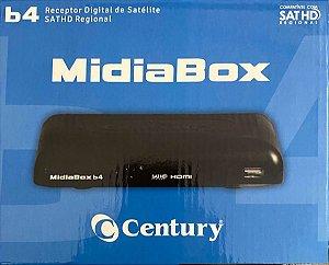 Receptor Midiabox B4 Azul HDTV Century