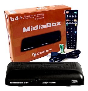 Receptor Midiabox B4 + Lnbf Monoponto Super Digital Century